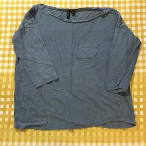3 for $15 Cynthia Rowley 100% linen top